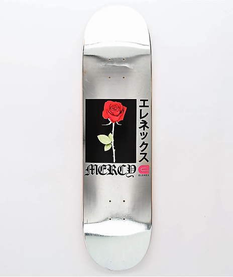 Mercy Rose silver foil
