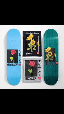 mercy rose shirts and sunflower decks.PN