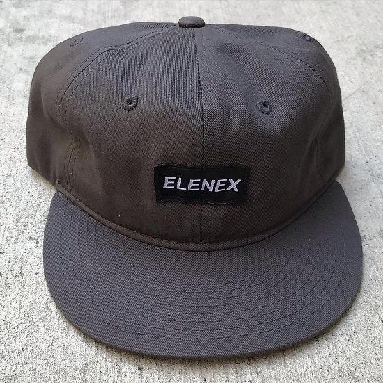 Elenex unstructured 6 panel snap hat