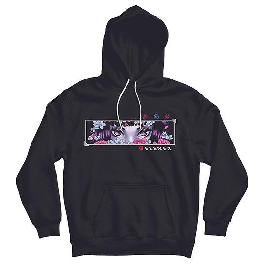 Cherry rose hoodie