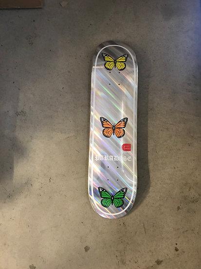 Paradise butterfly foil deck