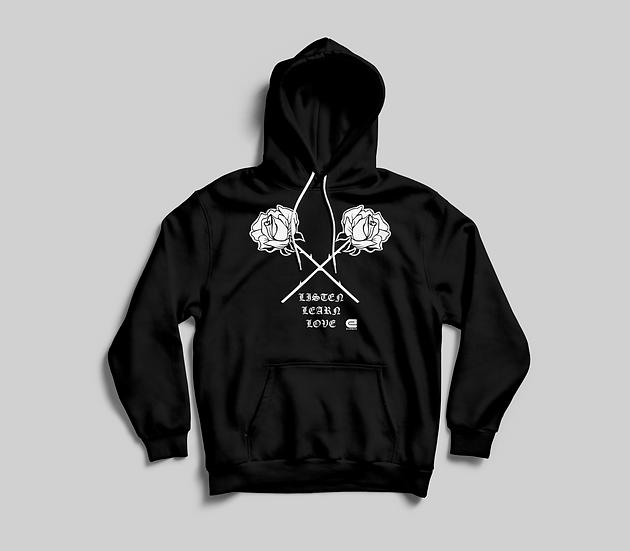 Double rose hoodie