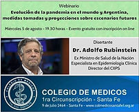 Evolución de la pandemia en el mundo y Argentina, medidas tomadas y proyecciones sobre escenarios futuros