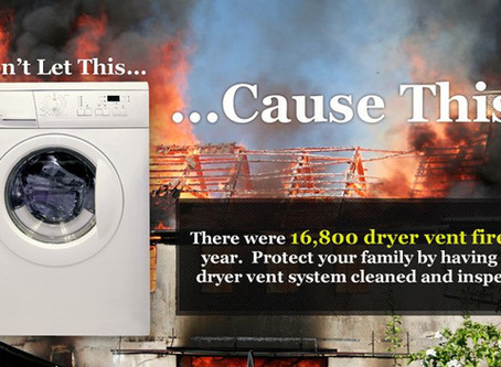 Dryer Vents: Cleaning Them Prevents Fires
