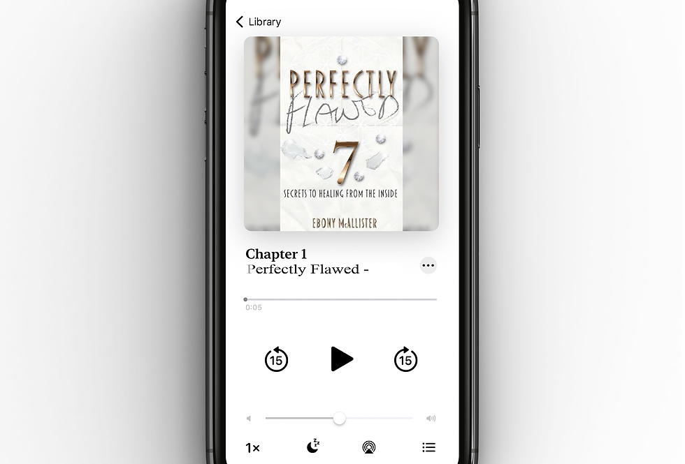 Perfectly Flawed:: Seven Secrets To Healing From The Inside (Audio Book)