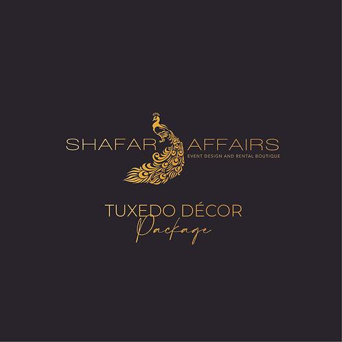 Tuxedo Decor Package (Deposit)
