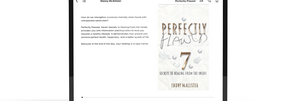 Perfectly Flawed:  Seven Secrets To Healing From The Inside (eBook)