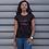 Thumbnail: Wife Vibes T-shirt ( Black & Red)