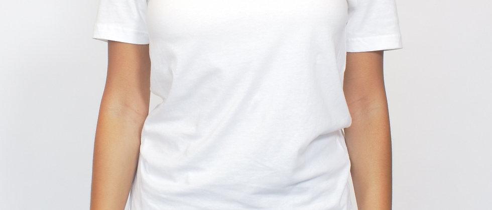 Model Tee - White