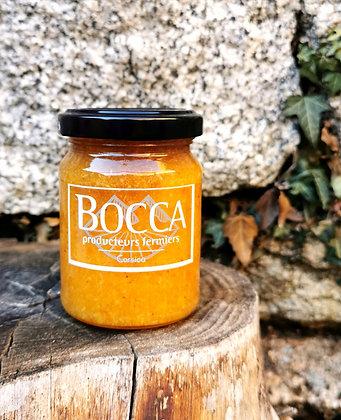 Marmelade de clémentine corse bio au miel et épices à pain d'épices