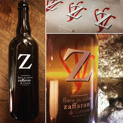 Bière «Z» au safran Zaffaranu