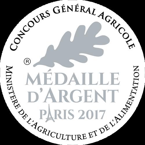 Médaille d'argent au CGA 2017