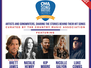 Who are your CMA Songwriters 2018?