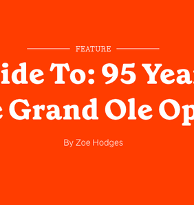 95 Years Of The Grand Ole Opry!