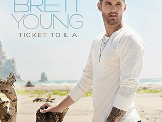 Brett Young's Ticket to L.A. tops the album charts!