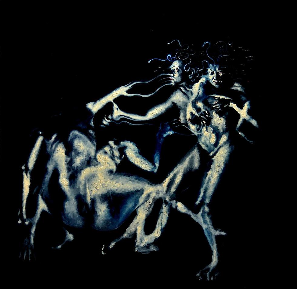medusa, nicola piscopo, contemporary art, krampfanfalle