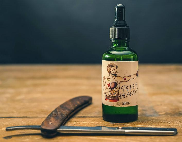 Pete's Beard Oil Vanilla, Sandlewood and Patchouli