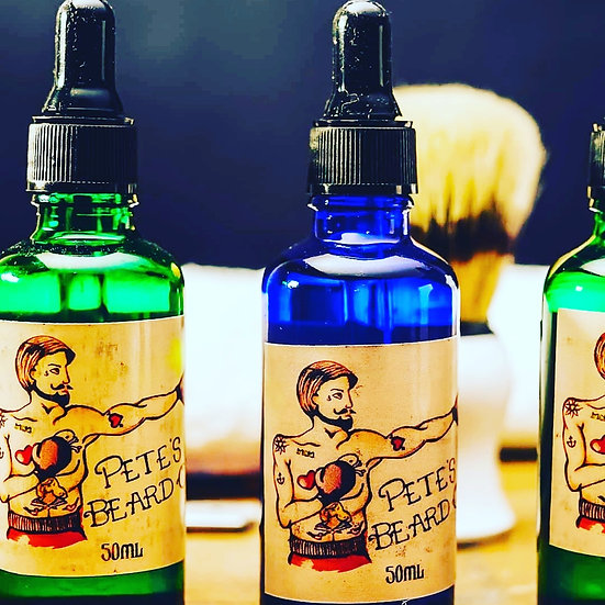 Pete's Beard Oil Bay Rum