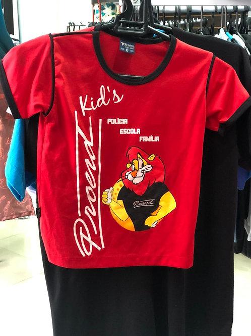 Camiseta Malha Fria Curta