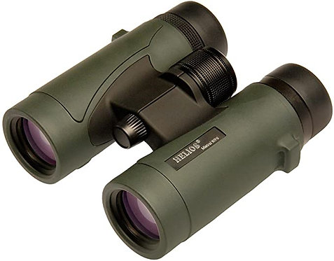 High powered semi compact binocular