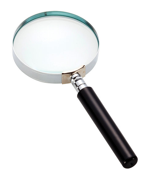 Opticron glass hand magnifier