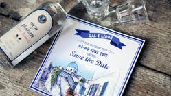 SAVE THE DATE - יריית הפתיחה לחתונה היוונית שלנו