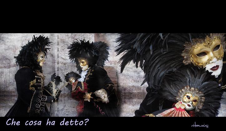 Carnevale venezia: Que cosa ha detto?