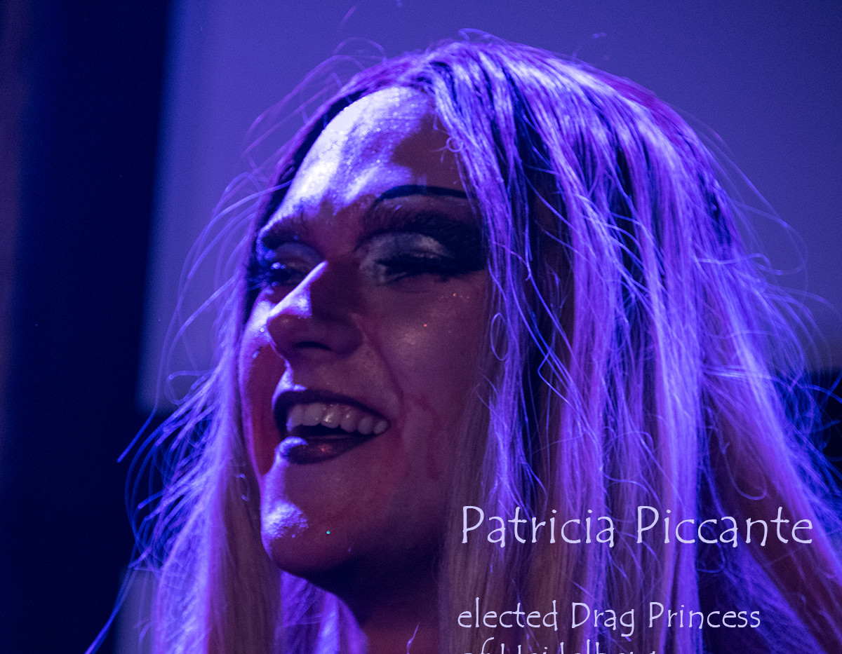 Patricia Piccante - talented Drag Princess