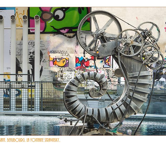 Fontaine Strawinsky, Centre Pompidou