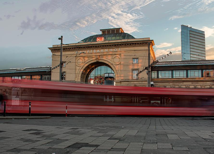 Main train station, Mannheim