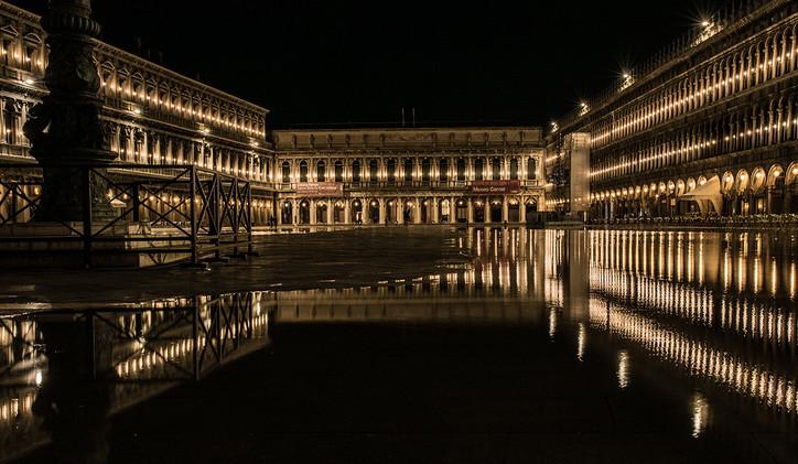 Piazza San Marco,  Aqua Alta 2019