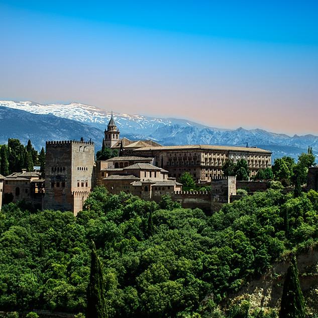 Alhambra, Grenada, Spain