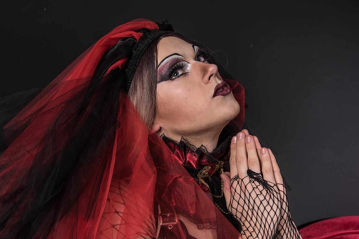 ... praying hard
