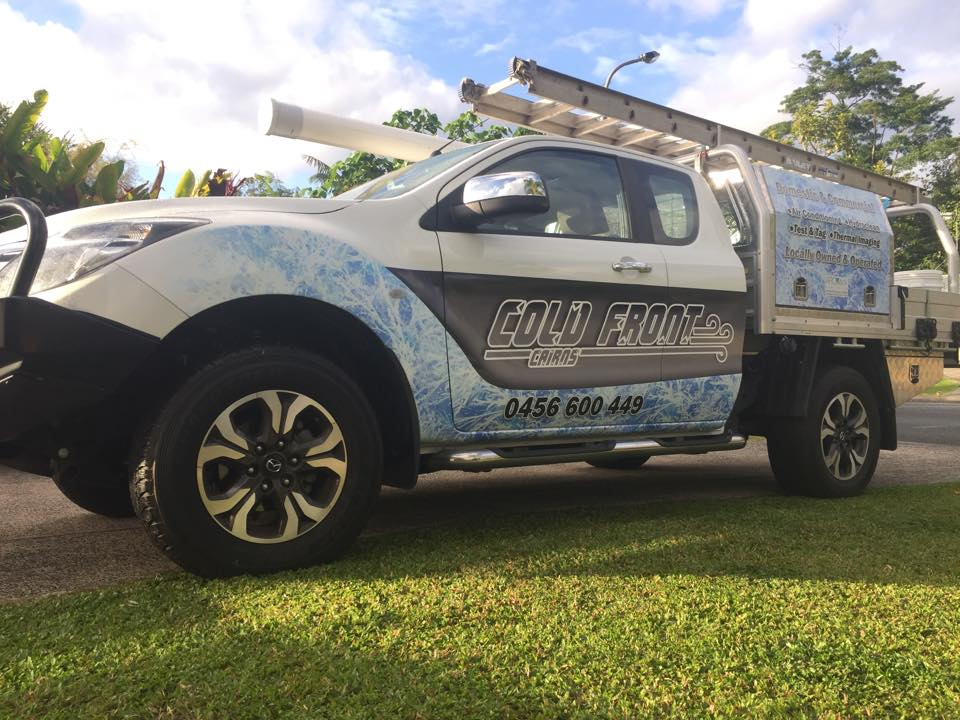 Cold front ute tradie