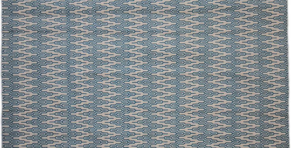 Kilim Double Face Blue