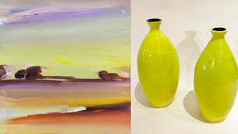 Jefferson Art Studio: New Exhibition of Painting and Ceramic Art.