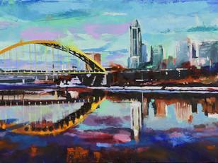 Tony Lipps: City Reflections