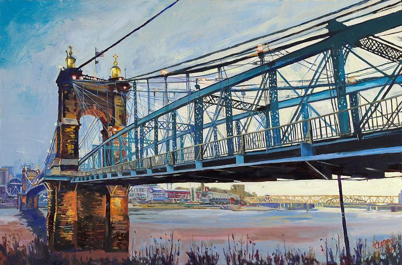 Roebling Bridge, early morning.jpg