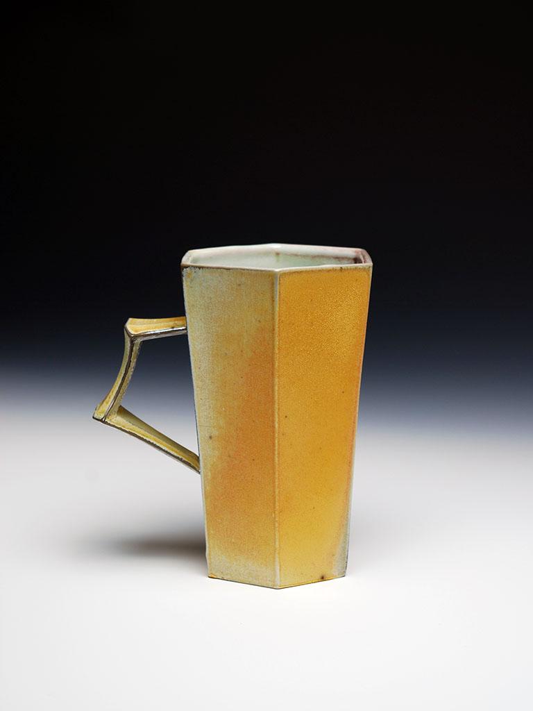 Titanium Yellow Hex Mug