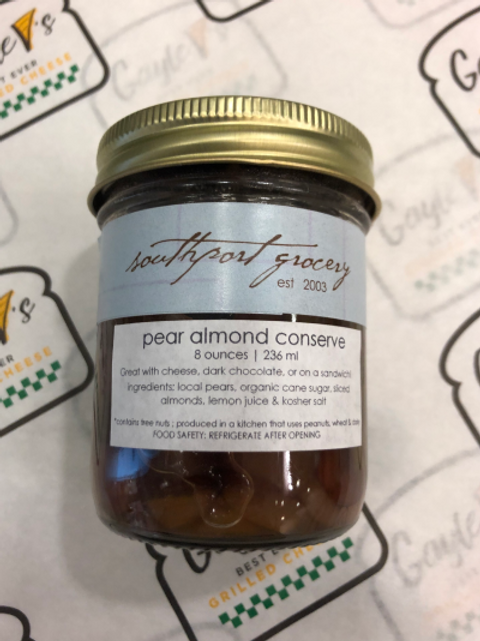 Pear Almond Conserve