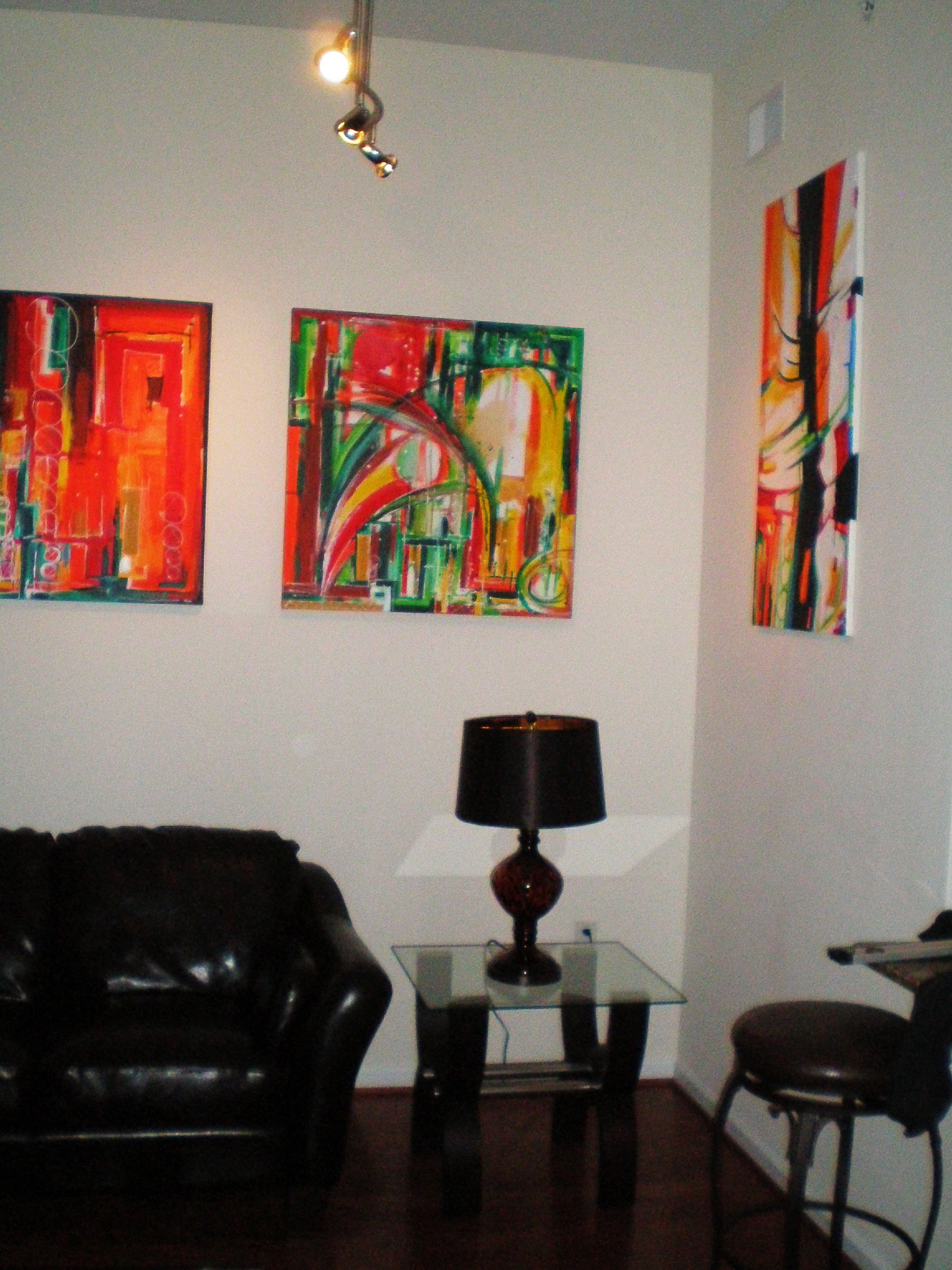 Home commission art works