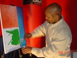 Live Art demo R. Lewis
