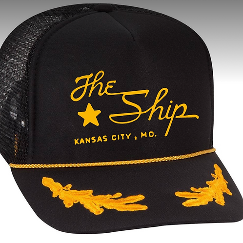 Embroidered Skipper's Cap