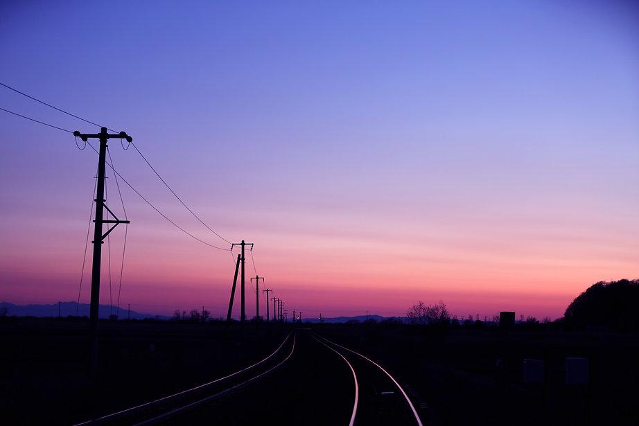 鉄路の旅の始まり…