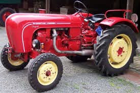 Even our tractors were Porsches