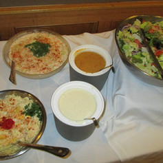 Assorted Salads at a Full Service Event