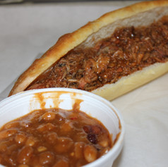 Pulled Pork with Baked Beans
