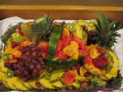 Fruit Tray for Graduation Party