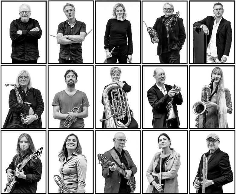 People with instruments