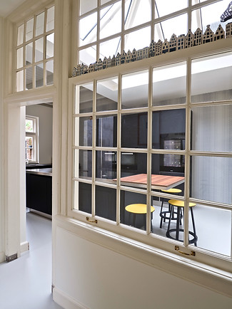 Grachtenpand_doorzicht keuken